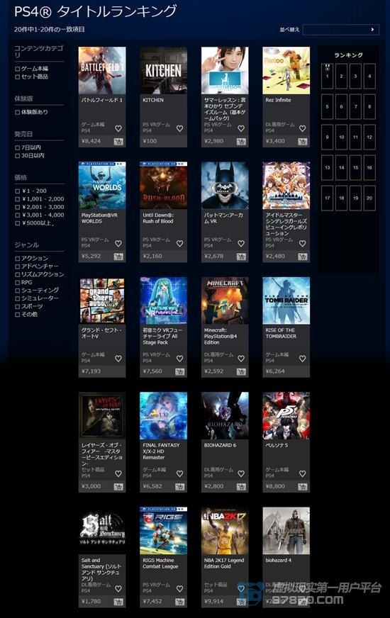 PS4® タイトルランキング   公式PlayStation®Store 日11本_副本.png