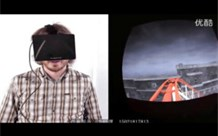 The general public tries out the Oculus Rift virtual rollerc